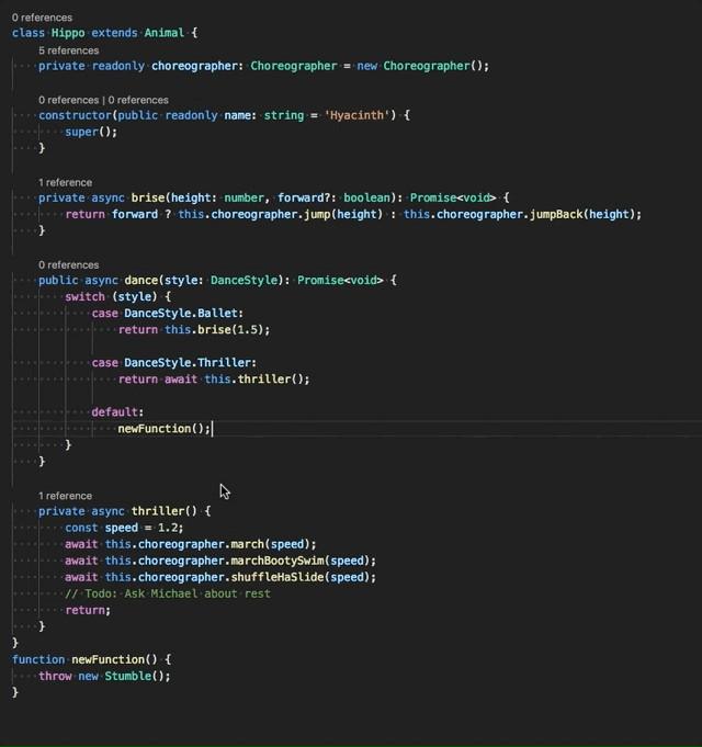 Refactorización de TypeScript-JavaScript en Visual Studio Code 1.16