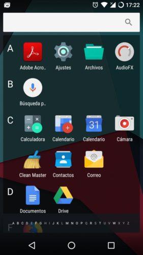 Aplicaciones en LineageOS