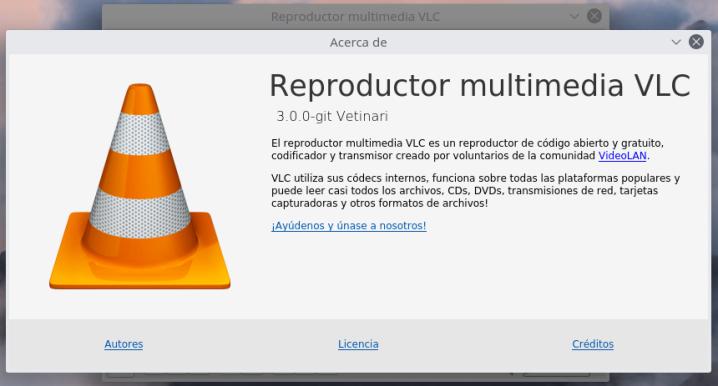 VLC 3.0 Vetinari