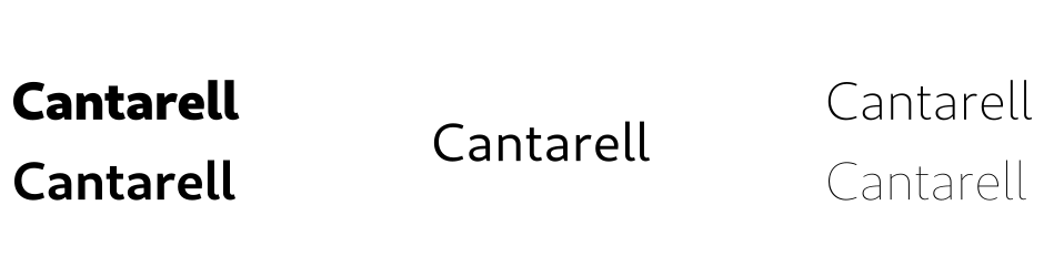 Cantarell GNOME 3.28