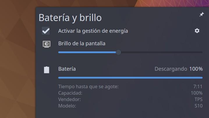 Slimbook bateria