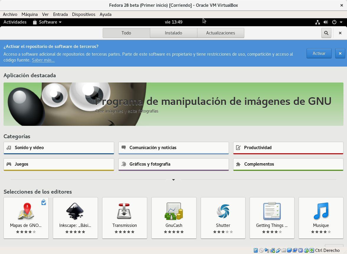 Fedora facilita la instalación de repositorios para Steam, Chrome y