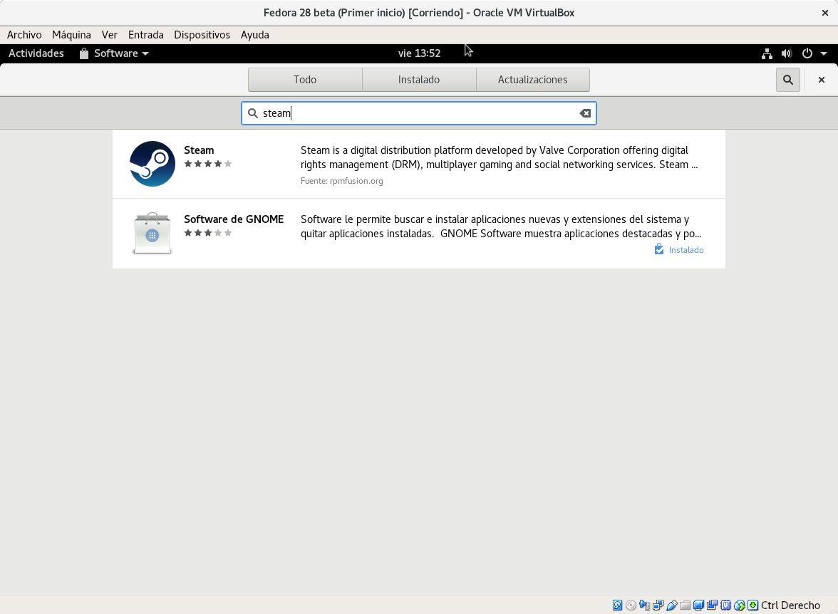 Fedora facilita la instalación de repositorios para Steam