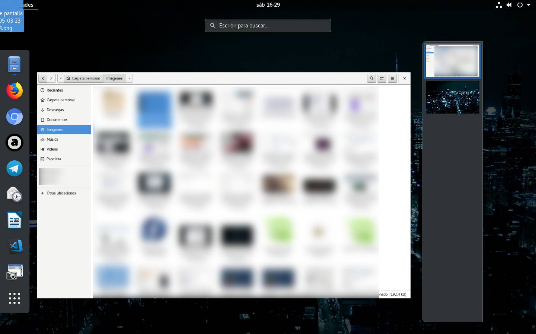 Escritorios virtuales descolocados en Ubuntu 18.04 con GNOME Session (la sesión de GNOME vanilla)