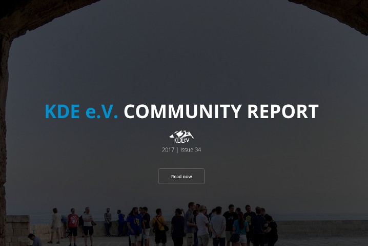 KDE e.V. Community Report 2017