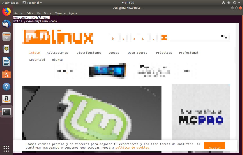Browsh en Ubuntu 18.04