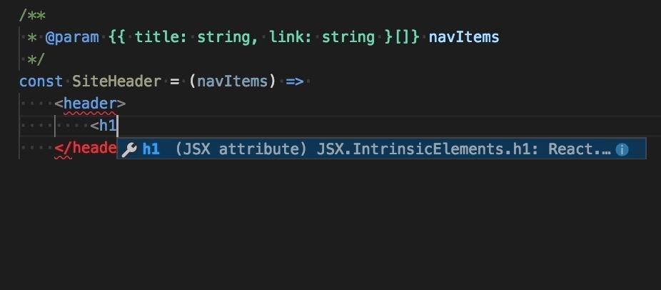 Autocompletado de JSX en Visual Studio Code 1.26