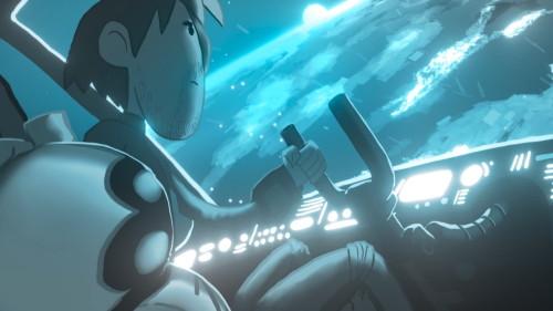 Tenzen y Zoe, los protagonistas de las animaciones de System76 para presentar su futura computadora presuntamente Open Hardware