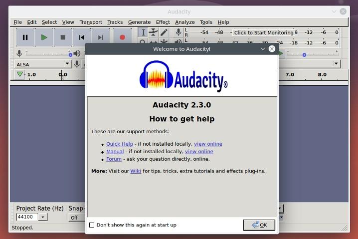 audacity-linux