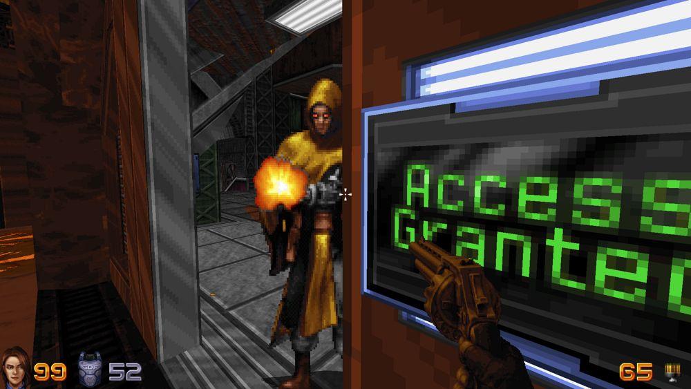 Los enemigos de Ion Fury están hechos con sprites, son en 2D