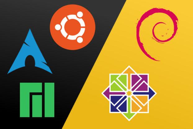 Debian y CentOS Vs Ubuntu, Manjaro y Arch Linux