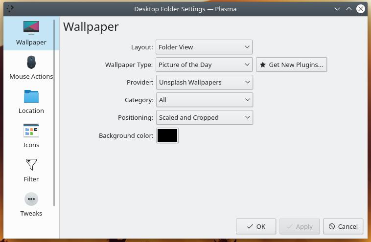 KDE Plasma 5.17