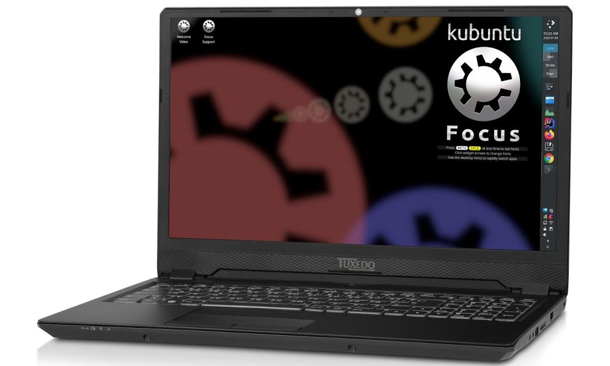 Kubuntu Focus de Tuxedo
