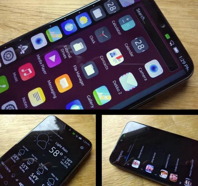 Volla Phone ejecutando UBPorts