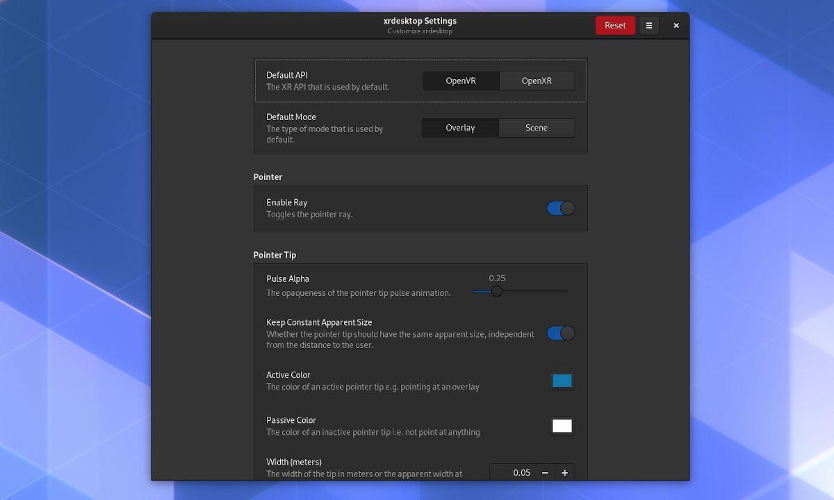 Configuración de xrdesktop 0.14 en GNOME