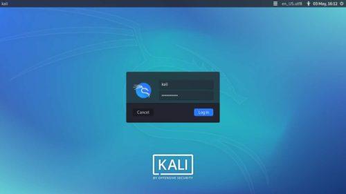 LightDM en Kali Linux 2020.2