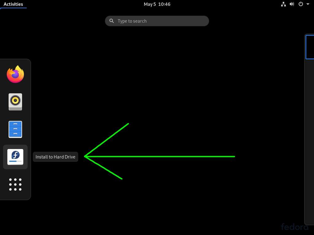 Empezar a instalar Fedora 32 Workstation