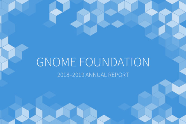 Informe anual 2019 de GNOME Foundation