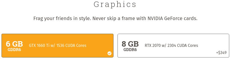 el nuevo Serval WS de System76 solo permite elegir entre gráficas de NVIDIA