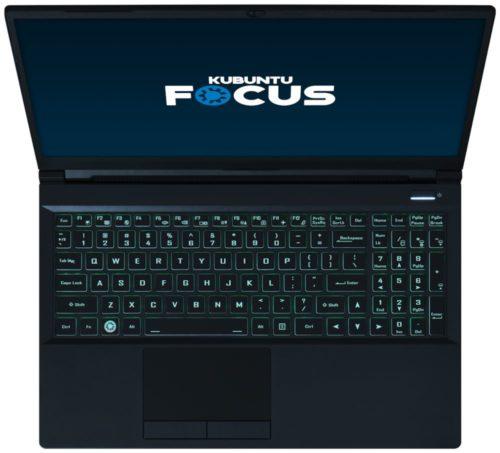 Kubuntu Focus M2 frontal