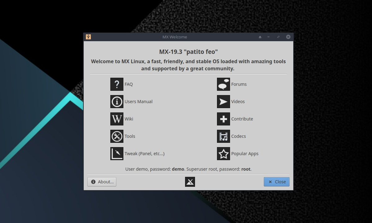 MX Linux 19.3