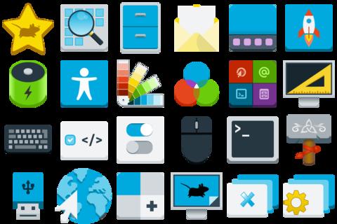 Xfce 4.16 - Iconos
