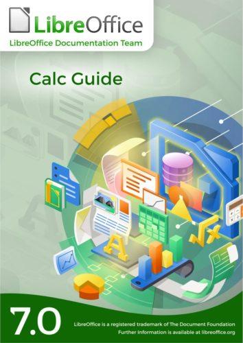 portada de la guía de LibreOffice Calc 7