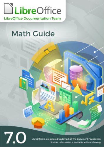 portada de la guía de LibreOffice Math 7