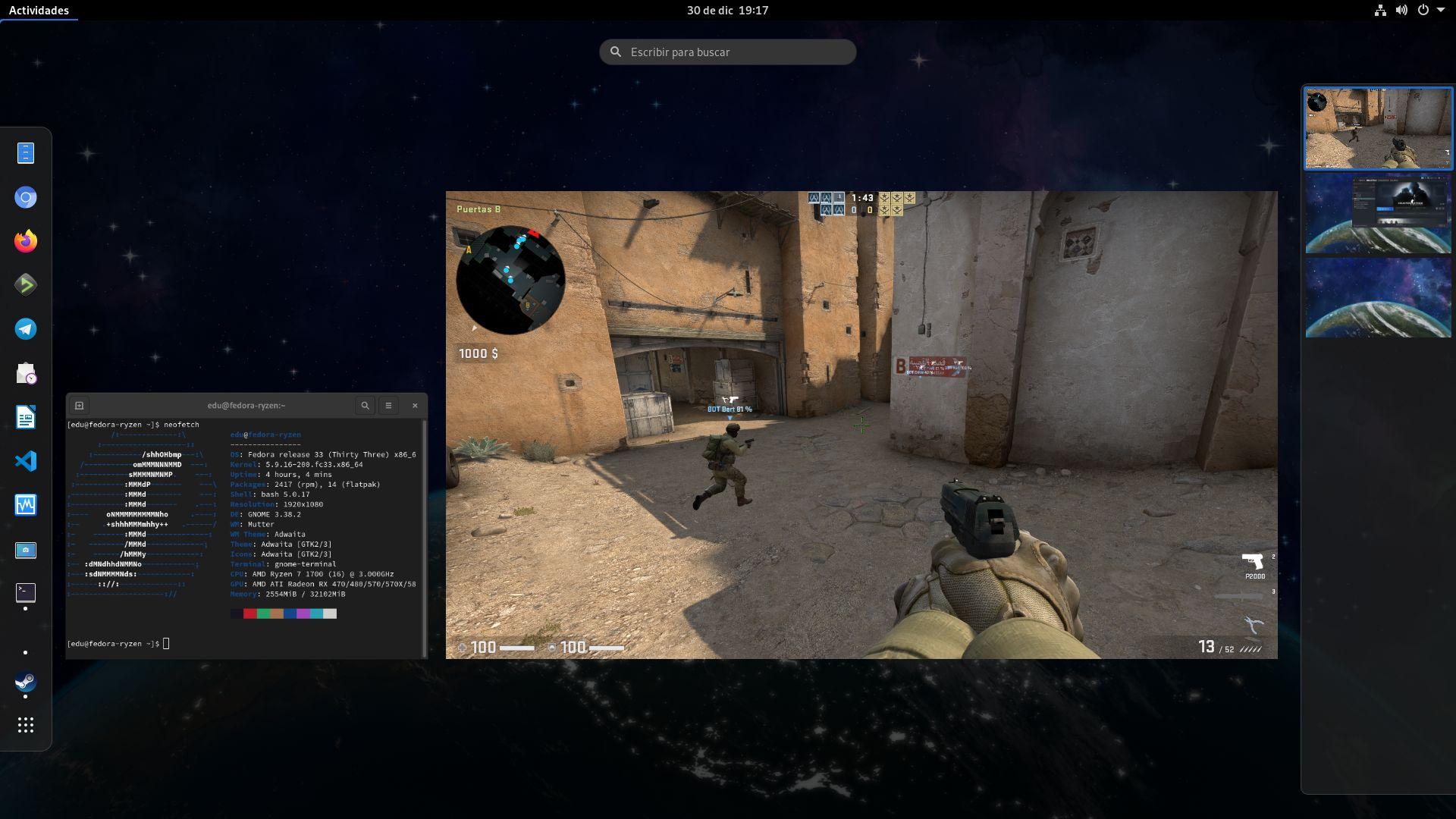 Counter-Strike: Global Offensive en Linux