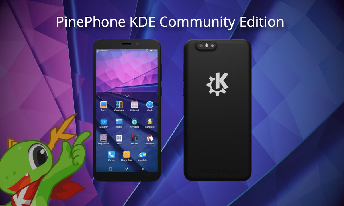 PinePhone KDE Community Edition