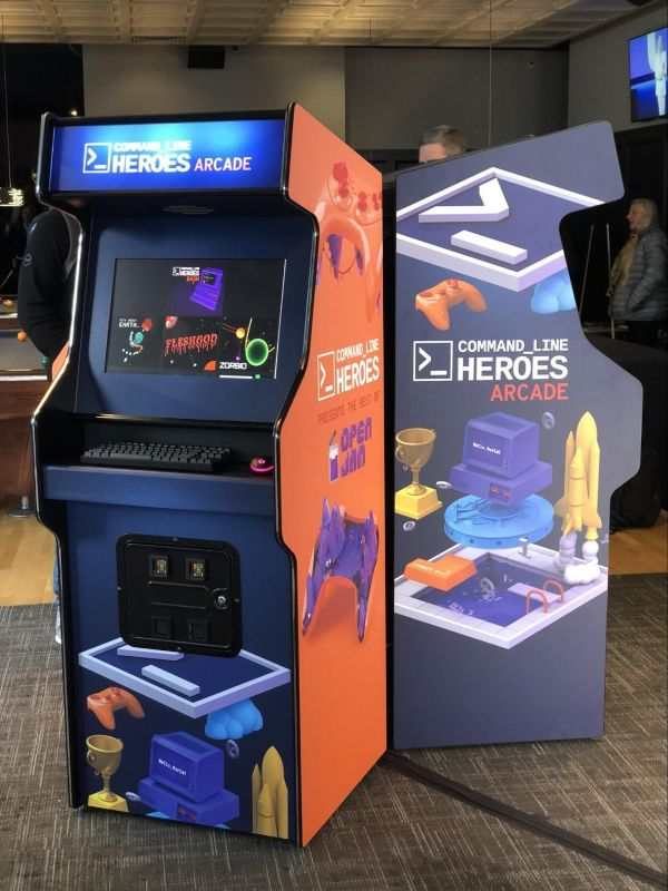 Command Line Heroes Arcade