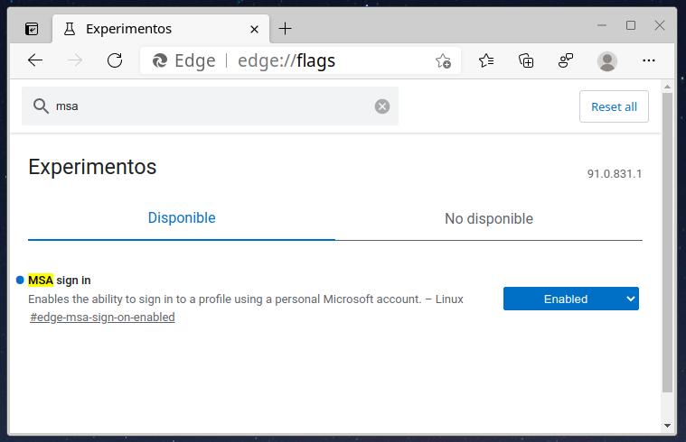 Microsoft Edge en Linux