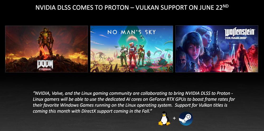 DLSS en Linux con Proton