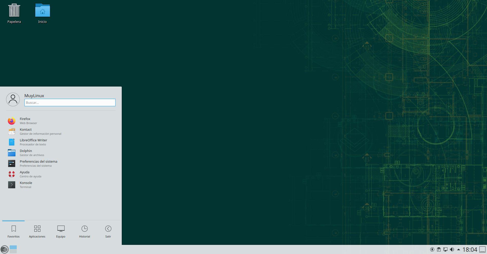 openSUSE Leap 15.3 con KDE Plasma 5.18