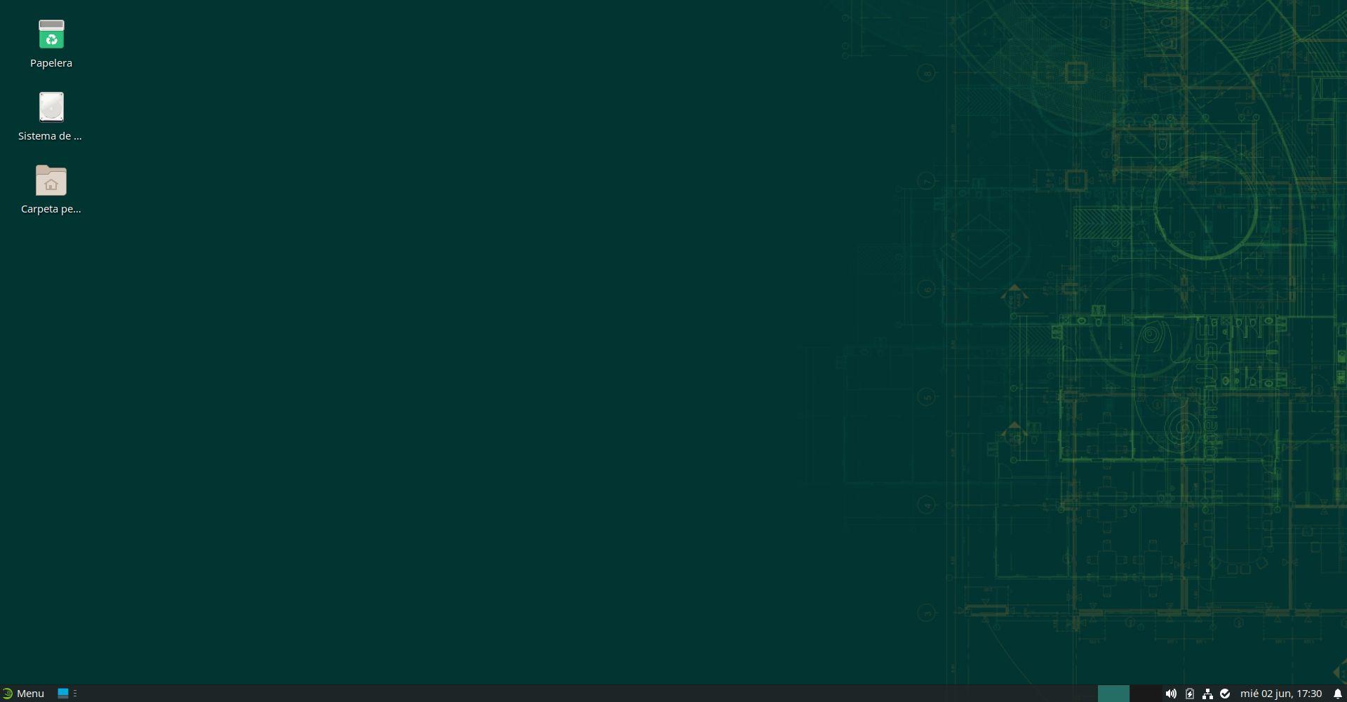openSUSE Leap 15.3 con Xfce 4.16
