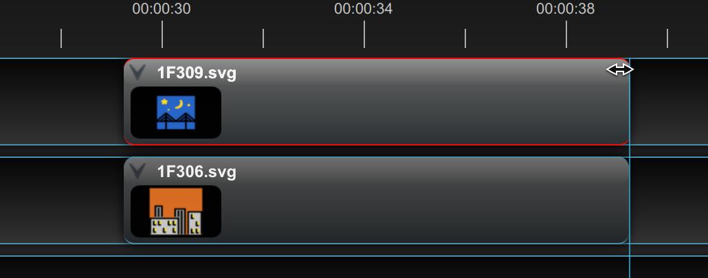 Control de zoom deslizante en OpenShot 2.6