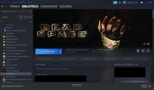 Dead Space en Steam
