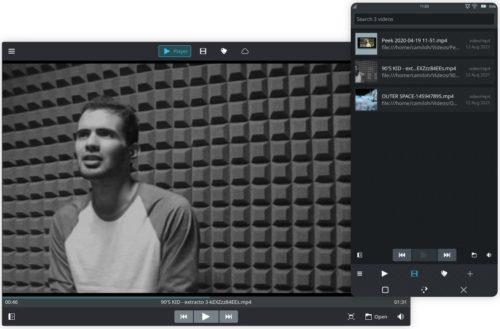 El reproductor de videos Clip en Maui Apps 2