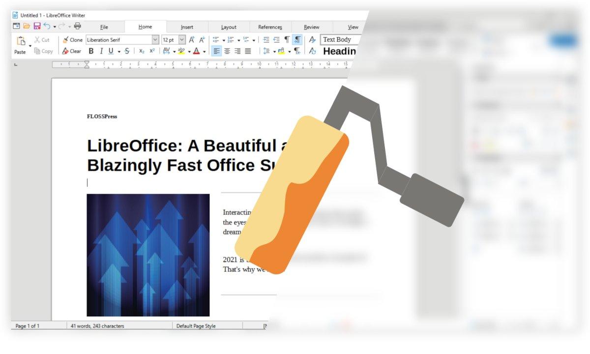 Interfaz de LibreOffice